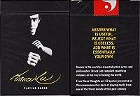 アートの再生ブルース・リーOfficial Playing Cards PokerサイズデッキUSPCCカスタムLimited