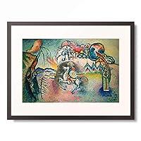 ワシリー・カンディンスキー Wassily Kandinsky (Vassily Kandinsky) 「Rider, St. George」 額装アート作品