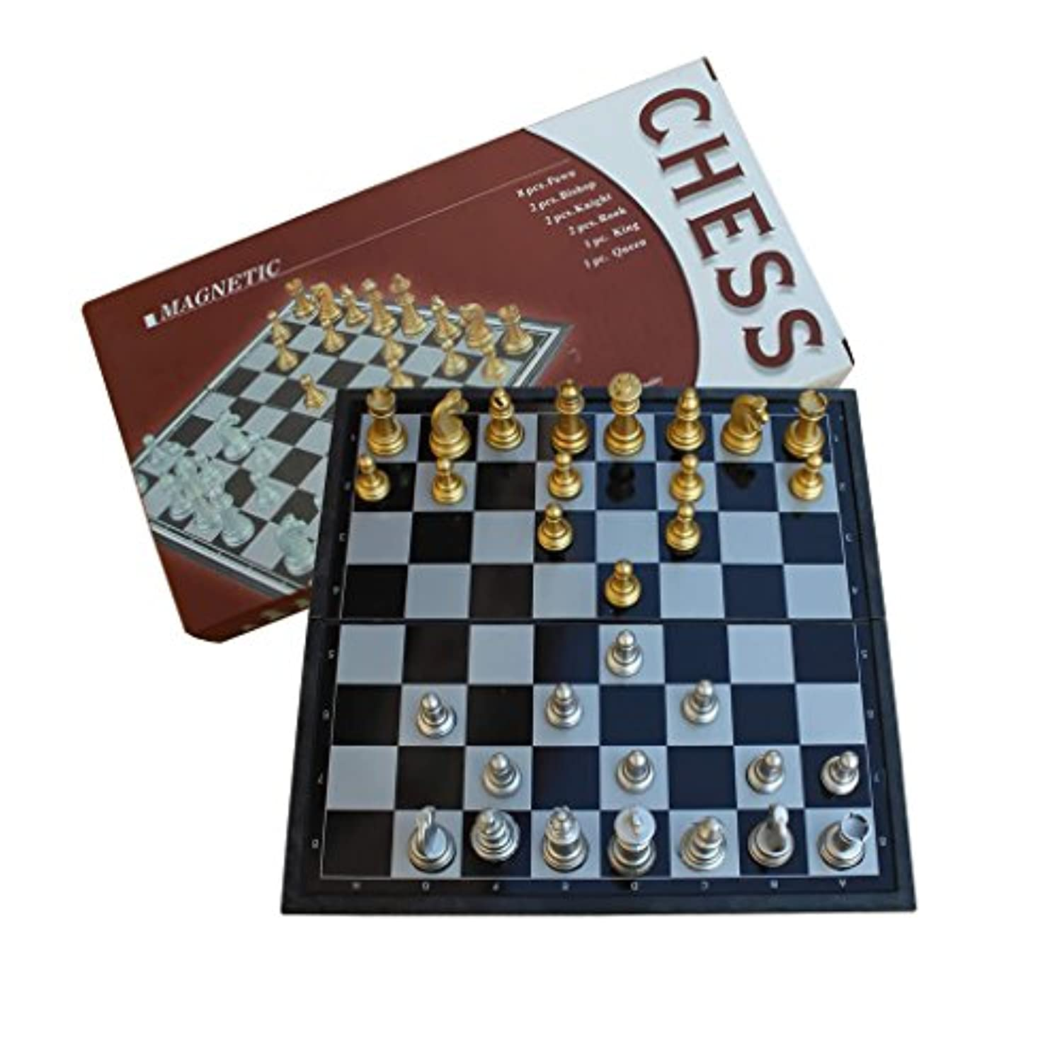DYQWT Travel Folding Magnetic Chess Set