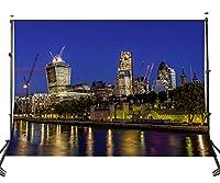 lylyctyポリエステル10x 7ft写真バックドロップ市高Building Night andライトシーン背景フォトスタジオprops107–654