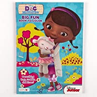 Dollaritemdirect Coloring Book Doc McStuffins 96 pgs 24 pc表示ボックスで、ケースパックof 24