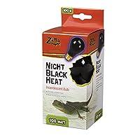 Zilla - Night Black Heat Incandescent Bulb 100 Watt - 100009914