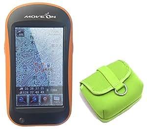登山ルート 作成 ハンディ GPS 登山用ナビゲーション MOVEON <東日本版> ヤマナビ2.5 【 モバイルバッテリー × 5in1ケーブル 付き 】 NVG-M2.5