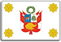 Presidential Standard Of Peru - Head of state standard fridge magnet - 蜀キ阡オ蠎ォ逕ィ繝槭げ繝阪ャ繝