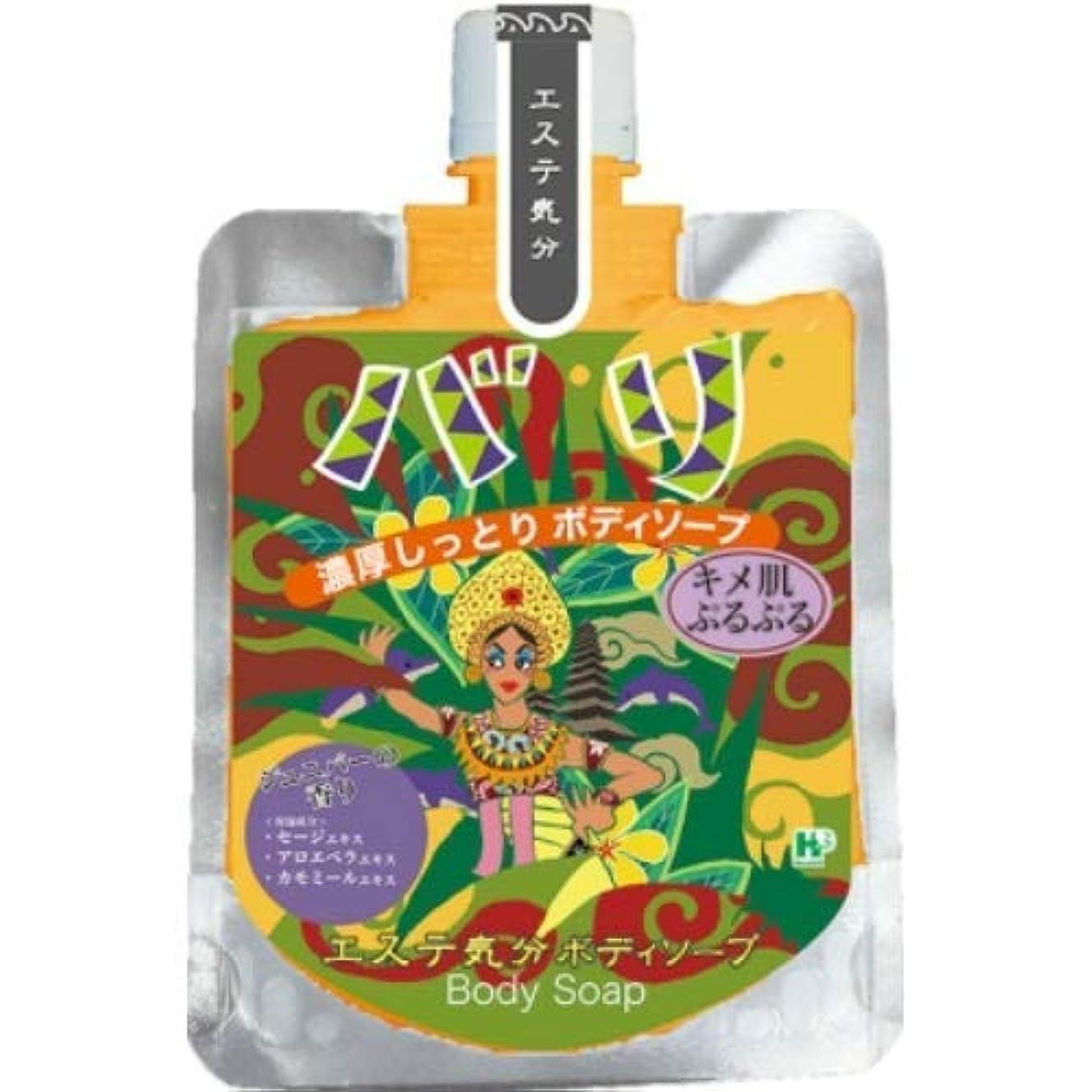 工場贈り物充電エステ気分ボディーソープ バリ × 12個セット