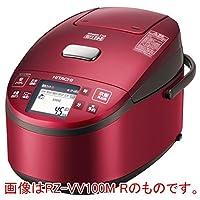 日立 IH ジャー炊飯器 蒸気カット 極上炊き 圧力&スチーム 1升 レッド RZ-VV180M R