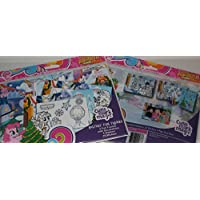 Holiday Pop-Outz Fun Frames My Little Pony Friendship is Magic Do It Yourself 4x6 Picture Frames - Decorate 2 Frames Cutie mark Magic