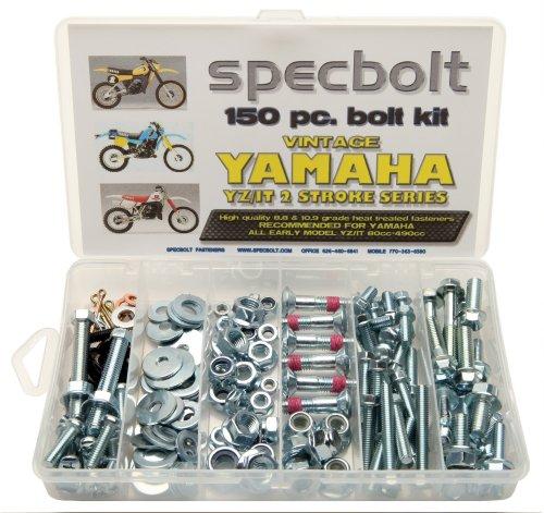 150pc Specbolt Yamahaヴィンテージyz Itボルトキット125175200250400425465490500メンテナンスRestoration yz125it175it200yz250it250mx360yz400it400it425yz465it465yz490it490wr500MX DT GT WR