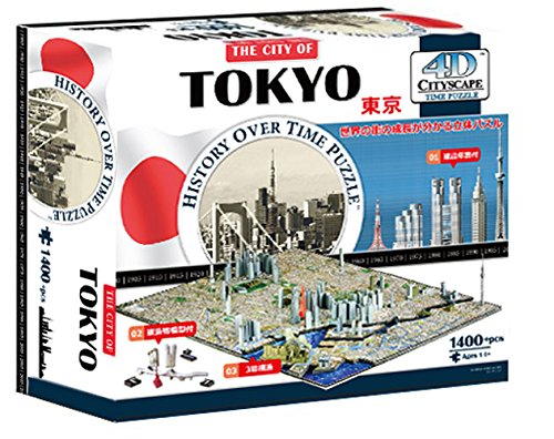 4D シティスケープ タイムパズル 東京 正規品 【パズル 都市 時間】 4D Cityscape Time Puzzle Tokyo 40035