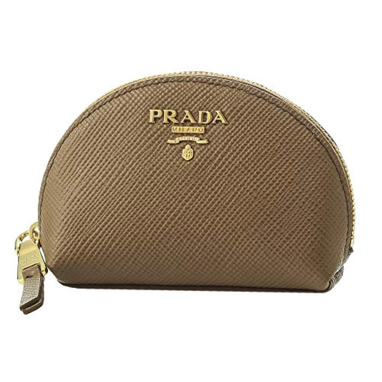 プラダ(PRADA) コインケース 1MM218 2BB8 F0401 サフィアーノ キュイール ブラウン 茶 [並行輸入品]