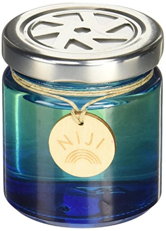 リマーク煩わしいクルーNIJI(ニジ) フレグランスゲル(芳香剤) ブライトブルースカイ 90g