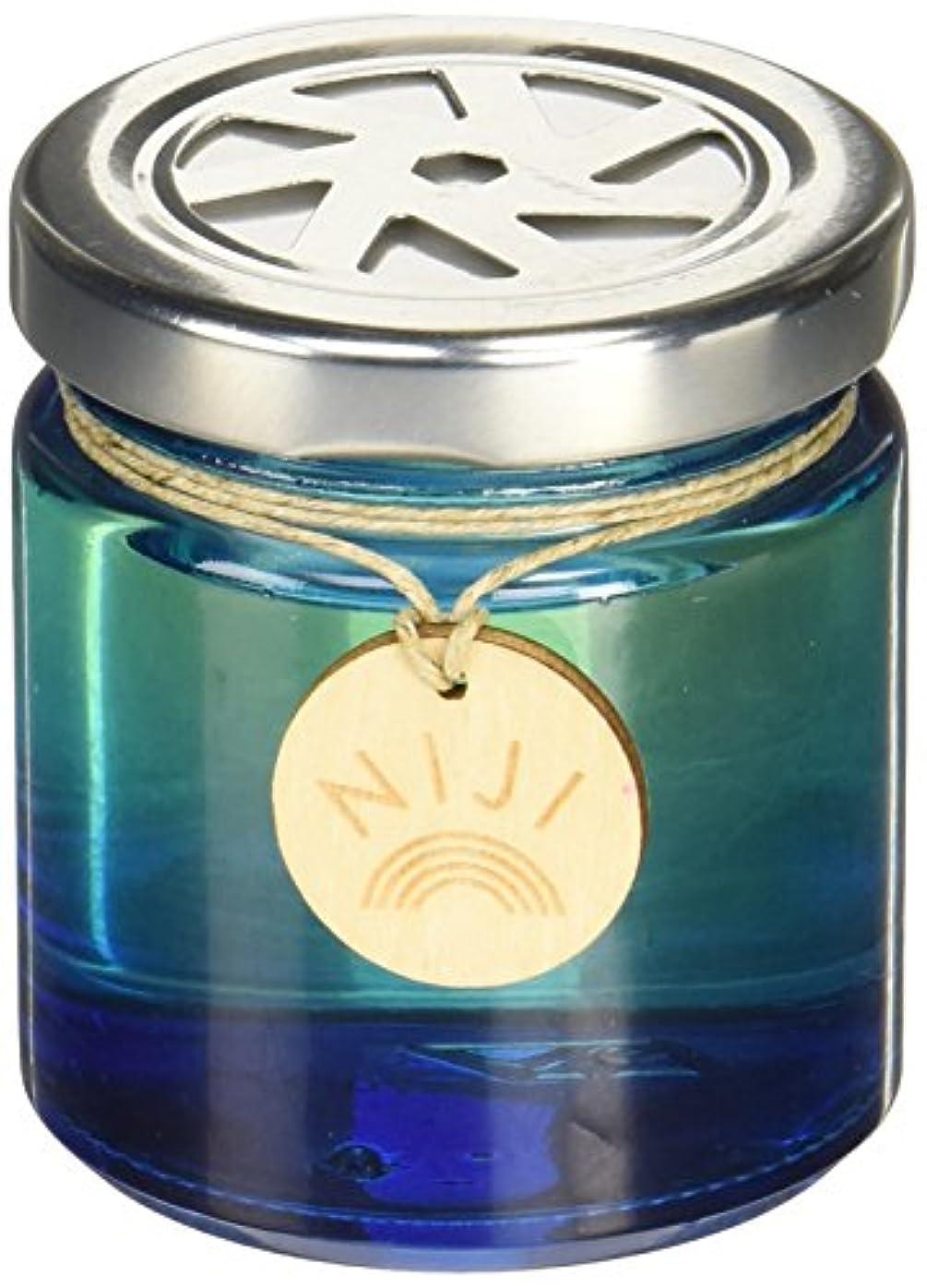 人道的塩シネマNIJI(ニジ) フレグランスゲル(芳香剤) ブライトブルースカイ 90g
