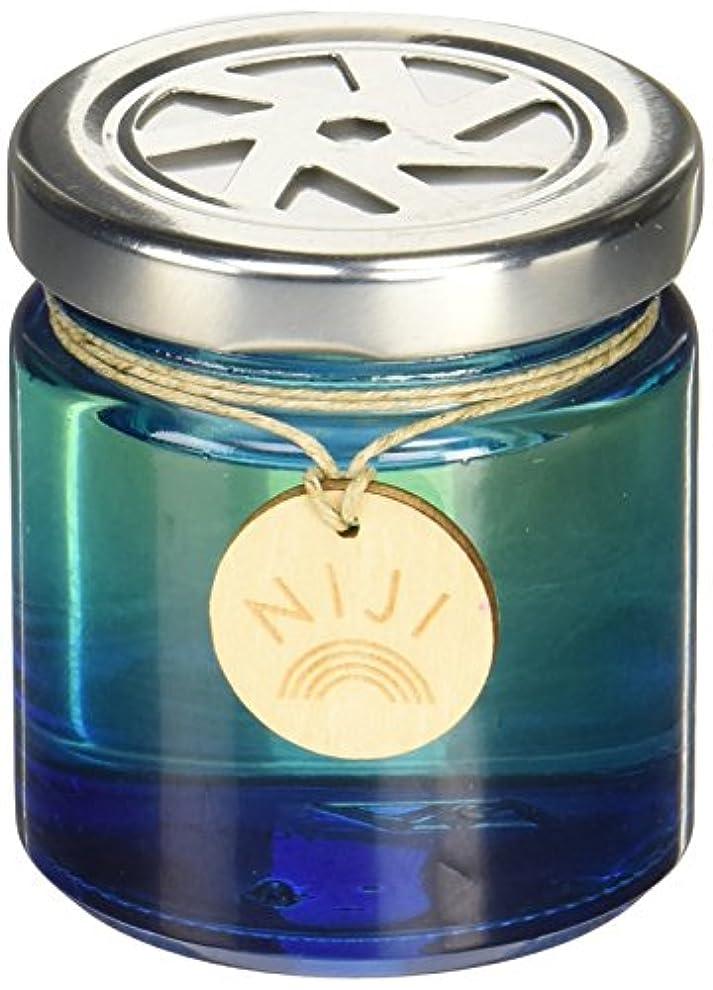 キャンベラ口述する昼寝NIJI(ニジ) フレグランスゲル(芳香剤) ブライトブルースカイ 90g