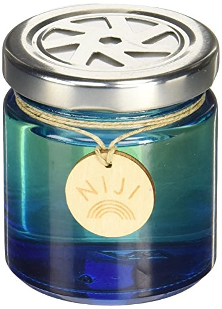 ただやるキャラクター微生物NIJI(ニジ) フレグランスゲル(芳香剤) ブライトブルースカイ 90g