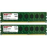 Komputerbay 8GBメモリ 2枚組 4GBX2 DUAL デスクトップパソコン用 増設メモリ DDR3 PC3-12800 1600MHz 240pin DIMM