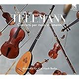 テレマン : 多数の楽器のための協奏曲集 (Georg Philipp Telemann : Concerti per molti stromenti / Akademie fur Alte Musik Berlin) [CD] [輸入盤] [日本語帯・解説付]