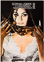 カレンダー 2020 [12 pages 20x30cm] Vintage レトロSophia Loren 映画s ポスターs