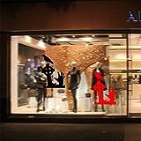 Yanqiao ウォールステッカー ハロウィン オシャレ 魔の手 カラス 壁紙 ガラスや壁や冷蔵庫でも使える