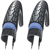 SCHWALBE(シュワルベ) マラソンプラス 700×35C BK+リフレクター 2本セット【並行輸入品】