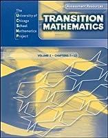 Transition Mathematics: Assessment Resources Volume 2 (UCSMP TRANSITION MATHEMATICS)