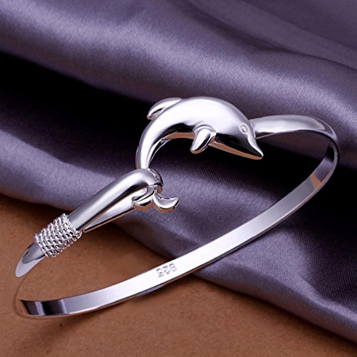 密近代化するまぶしさBEE&BLUE ブレスレット イルカ ファッション 綺麗 レディースアクセサリー