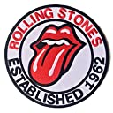 VTG XXs BIG SIZE 限定 刺繍 アイロンワッペン MC パッチ 特大 ローリングストーンズ STONES 1962