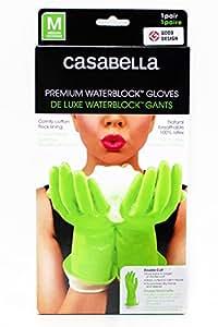 Casabella カサベラ プレミアムウォーターブロックグローブ Mサイズ グリーン