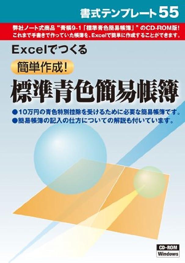 エロチックまた釈義書式テンプレート 55/簡単作成 標準青色簡易帳簿