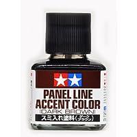 【 スミ入れ塗料 ( ダークブラウン ) 】 TM140// 塗装仕上げに 「 スミ入れ用 」 専用エナメル塗料