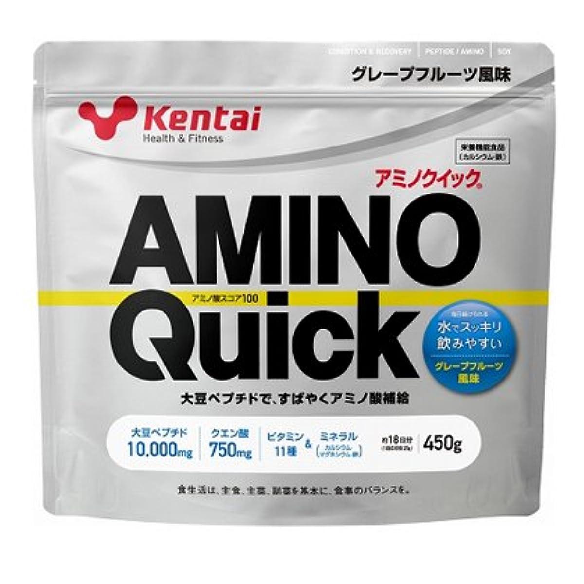 バドミントンダッシュ厄介な【健康体力研究所 (Kentai)】 アミノクイック450g