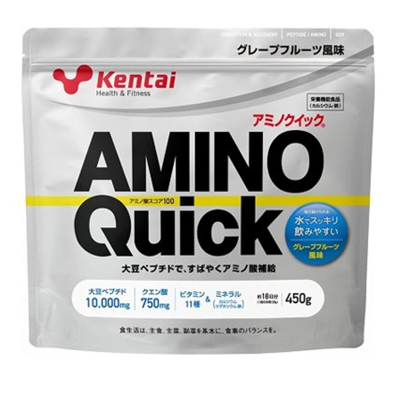 痛み寛大さ徐々に【健康体力研究所 (Kentai)】 アミノクイック450g