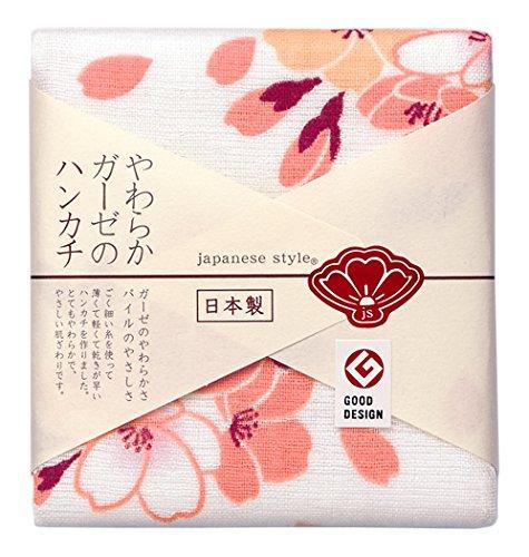 日繊商工 japanese style てまり桜 ハンカチ JS-35001