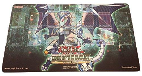 遊戯王 公式プレイマット ファイアウォールドラゴン スニークピーク