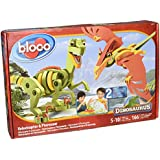 Wooky Bloco Dinosaurus Velociraptor and Pterosaur Building Set