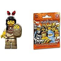 レゴ ミニフィギュア シリーズ15 原住民の女(先住民の親子) Tribal Woman 71011-05