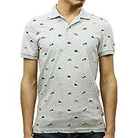 [アメリカンイーグル] AMERICAN EAGLE 正規品 メンズ 半袖ポロシャツ AEO FLEX POLO 1165-8712-006 並行輸入品 (コード:4115040402)