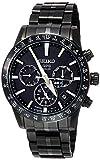 [セイコーウォッチ] 腕時計 アストロン GPSソーラー電波 チタンモデル オールブラック ブラック文字盤 サファイアガラス SBXC037 メン..