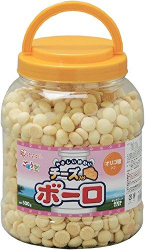 アイリスオーヤマ チーズ入りボーロ 500g×6個
