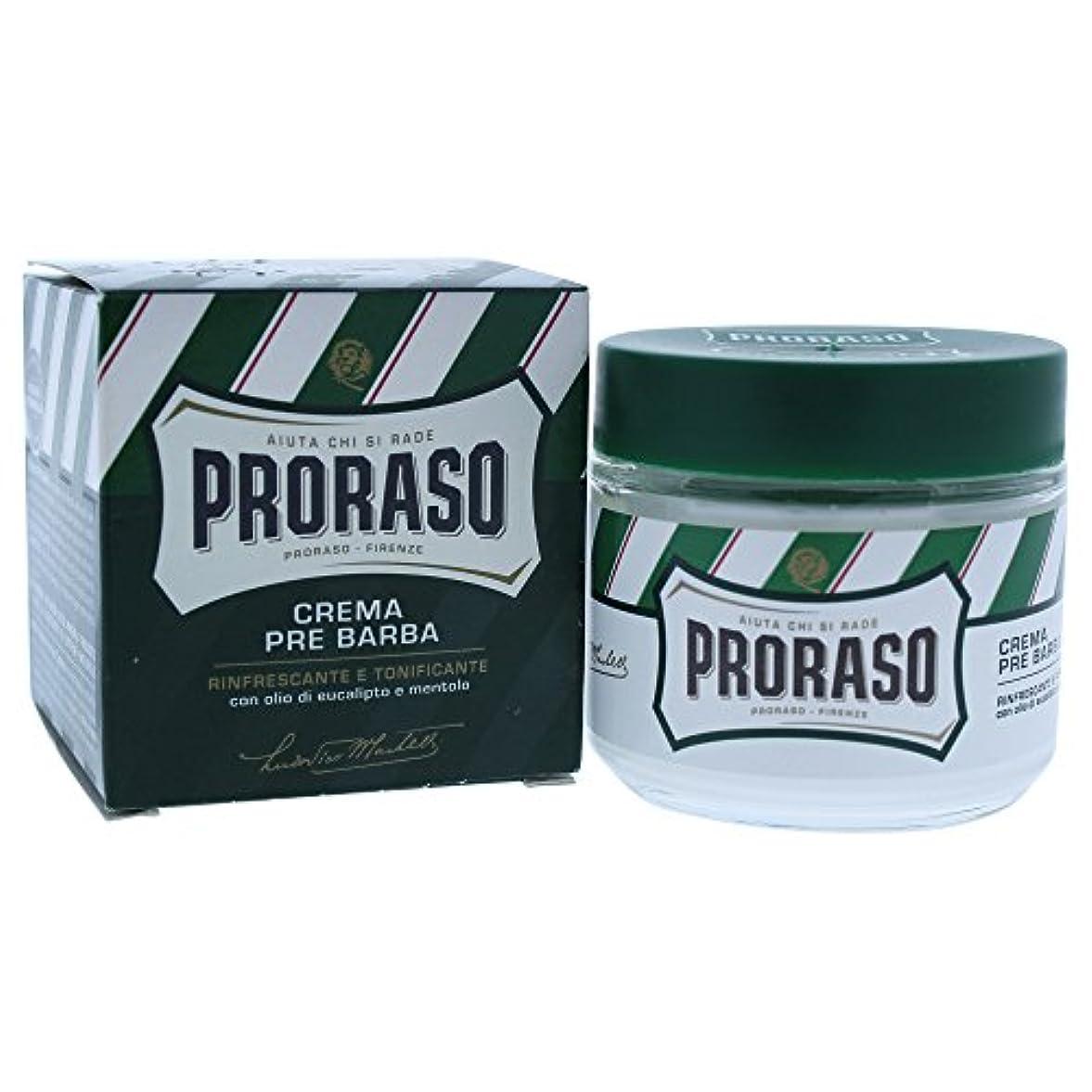 熟読するペルソナ媒染剤PRORASO(ポロラーソ) プレシェーブクリーム リフレッシュ