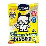 ライオン LION ペットキレイ ニオイをとる砂 5L