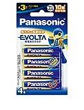 パナソニック EVOLTA 単3形アルカリ乾電池 4本パック LR6EJ/4B
