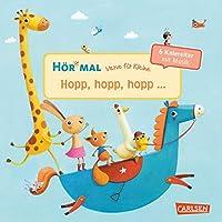 Hoer mal: Verse fuer Kleine: Hopp, hopp, hopp ... - Soundbuch ab 18 Monaten: ... und andere Kniereiter mit Musik (Soundbuch zum Mitmachen)