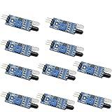 KKHMF 10 個 LM393 IR赤外線障害物回避センサモジュール Arduino用