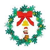 ナノブロック クリスマスリース NBH_220