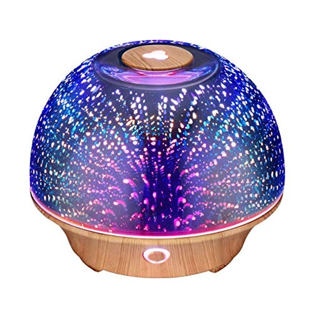 大工辞任蓮VicTsing Essential Oil Diffuser, 200ml 3D Effect Ultrasonic Aromatherapy Oil Humidifier with Starburst Fireworks...