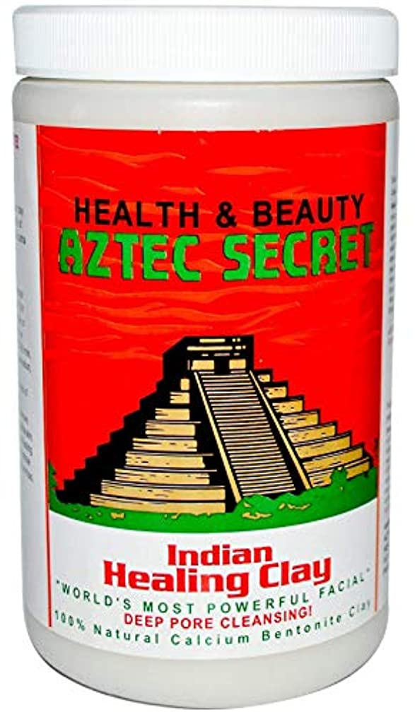 存在選択する花Aztec Secret, インディアン?ヒーリング?クレイ, 毛穴の奥をクレンジング!, 908 g [並行輸入品]