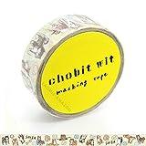 グリーンフラッシュJapanese和紙マスキングペーパーテープ/柴犬[ cw-190]