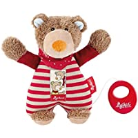 Sigikid 22 x 18 x 9 cm Wild and Berry Bears Musical Bear (Red) by Sigikid