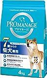 プロマネージ ドッグフード 7歳からの柴犬専用 高齢犬用 4kg×3個 (ケース販売)
