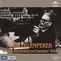 SSS0206 ベートーヴェン:交響曲第4番、第5番、レオノーレ序曲第3番 オットー・クレンペラー(指揮) ケルン放送交響楽団